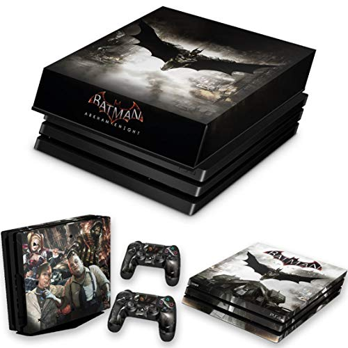 Capa Anti Poeira e Skin para PS4 Pro - Batman Arkham Knight