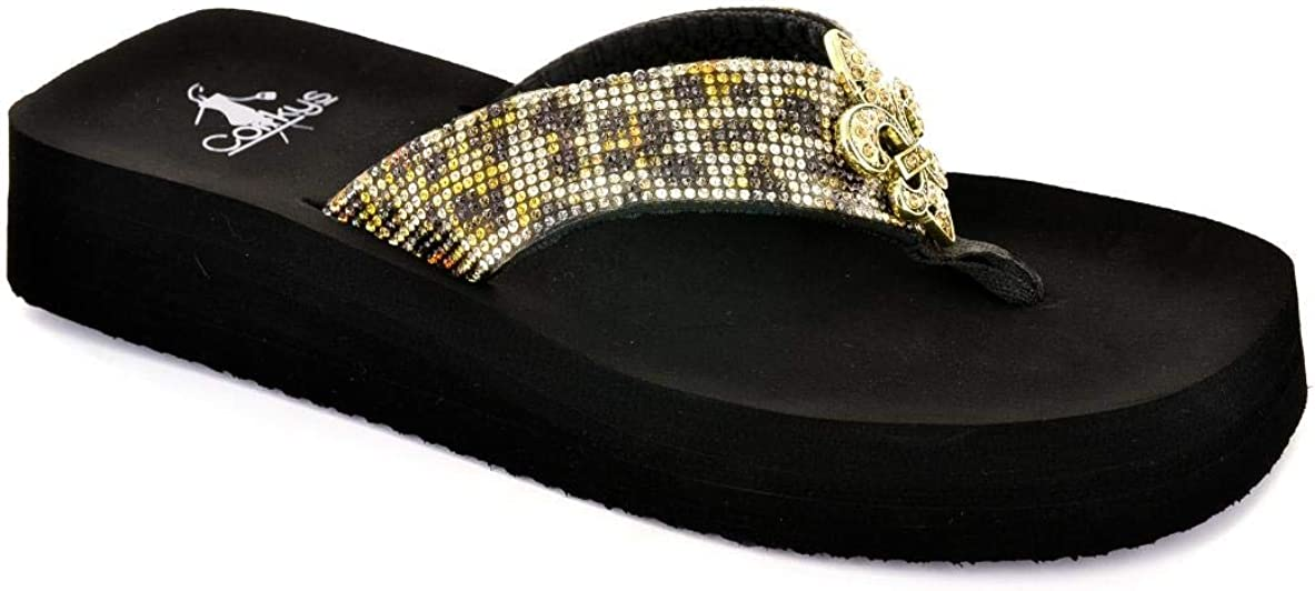 Cokys Womens Vanessa Fashion Slip Platform Direct stock discount Flip Regular dealer On Flop Sandal