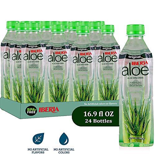 Iberia Aloe Vera Juice Drink , Original, 16.9 Fl Oz (Pack of...