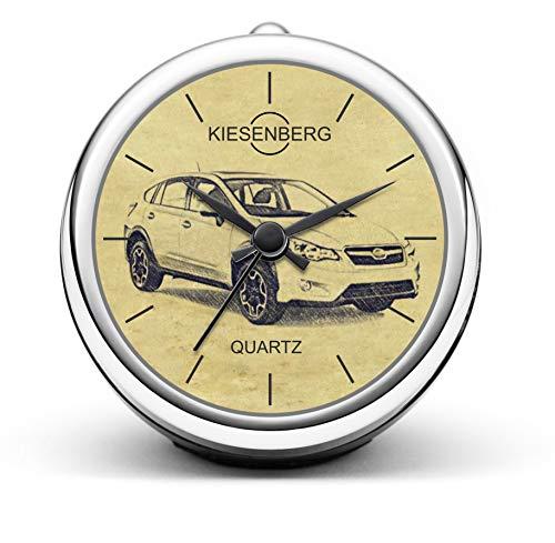 KIESENBERG Design Tischuhr Geschenk für Subaru XV ab 2011 Fan Uhr T-5222