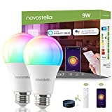 Smart WiFi Light Bulb, LED RGB Color Changing Light Bulbs with Remote...