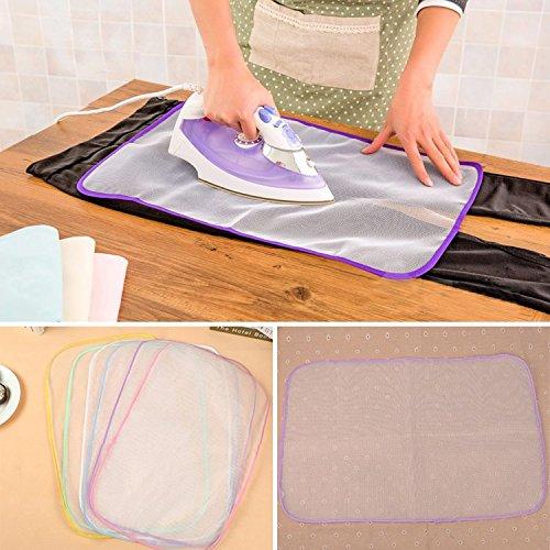 Kicode Pad Resistente al Calor, Protector de Prensa para lavandería, Malla Protectora para el hogar, práctica Alfombrilla de Planchado