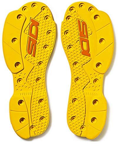 SIDI SRS Supermoto Sohle gelb - hart Paar SRS Ersatz Sohle Größe 40-42