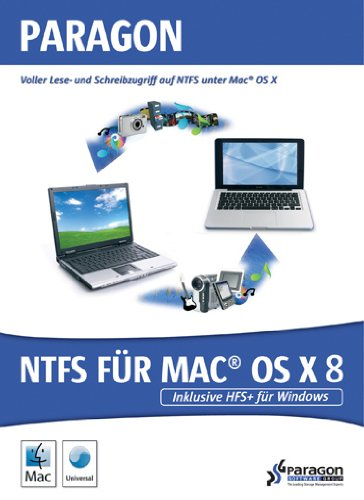 Paragon NTFS für Mac OSX 8