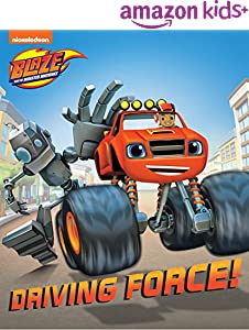 Driving Force! (Board) (Blaze and the Monster Machines)