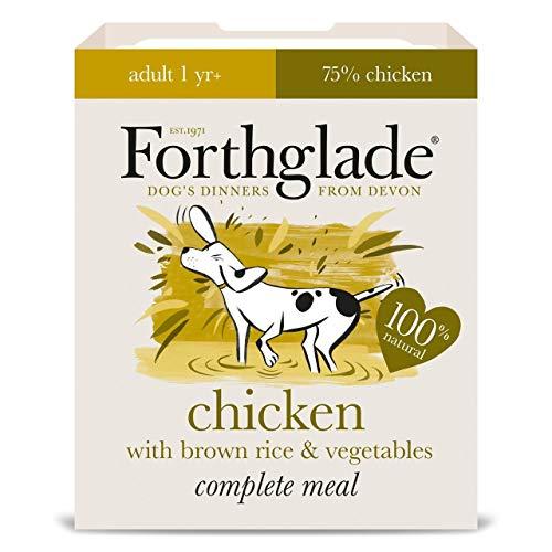Forthglade Pollo adulto completo con arroz integral y verduras 18 x 395g