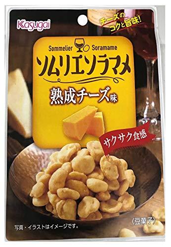 春日井製菓 ソムリエソラマメ熟成チーズ味 30g ×8袋