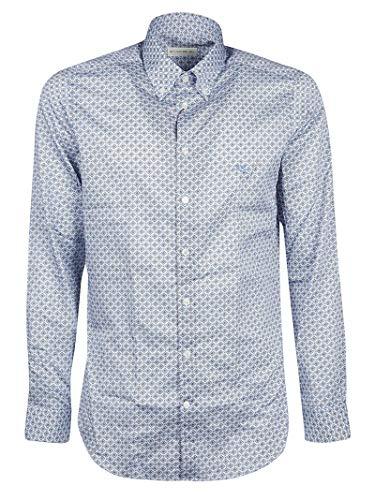 Etro Luxury Fashion Herren 1K9644755250 Hellblau Baumwolle Hemd | Jahreszeit Outlet