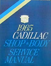 1965 CADILLAC FACTORY REPAIR SHOP & SERVICE MANUAL INCLUDS: Calais, Sedan de Ville, Coupe de Ville, De Ville convertible, Fleetwood Sixty Special Sedan, Eldorado, Limousine 75, Seventy-Five Sedan. 65
