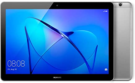 "Huawei Mediapad T3 Tablet WiFi, CPU Quad-Core A53, 2 GB RAM, 16 GB,  Display da 10"", Grigio (Space Gray)"