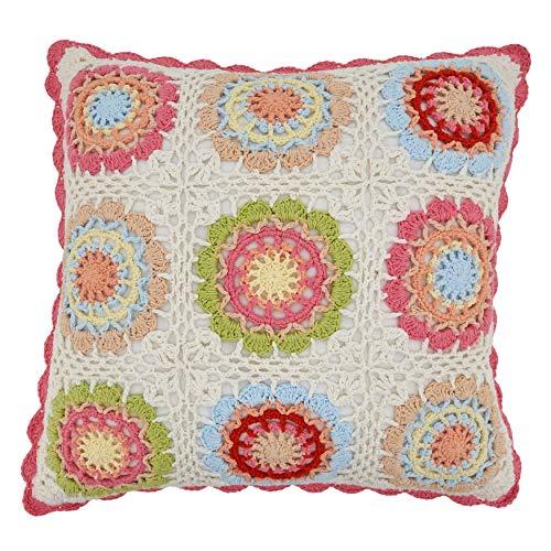 Collection Crochet Throw Pillow
