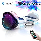 CITYSPORTS Hoverboard 6.5 Pouces + Hoverkart, Balance Board Smart Scooter 2x350W avec LED…