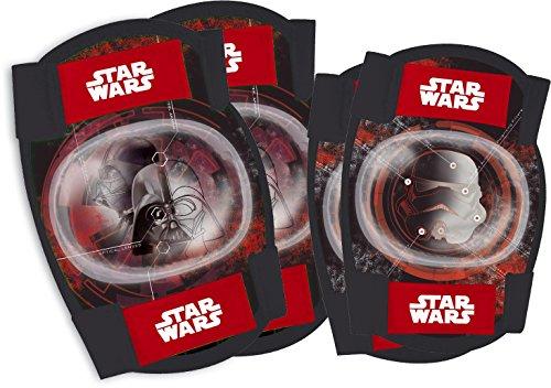 Disney Starwars Kit de protection avec coudières et genouillères pour le vélo