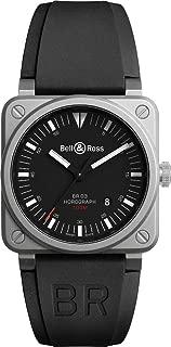 Bell & Ross Aviation Men's Watch BR0392-HOR-BLC/SRB