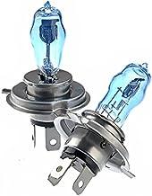 Pixnor H4 12 V 100 W/90 W 6000 K LED de luz blanca para coche xenón lámparas para faros delanteros - un par