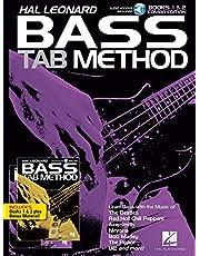 Hal Leonard Bass Tab Method - Books 1 & 2 Combo Edition: Combo Edition of Books 1 & 2 with Online Audio (English Edition)