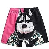 Pantalones Cortos De Natación para Hombres Troncos Secos...