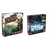 Pegasus Spiele 51945G - Robinson Crusoe & 57505G - Detective (deutsche Ausgabe)