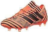 adidas Nemeziz 17.1 Fg, Botas de Fútbol para Hombre, Naranja (Narsol/Negbas/Rojsol), 42 EU