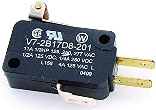 Basic / Snap Action Switches 11 A @ 250 VAC Strght Steel Actutor