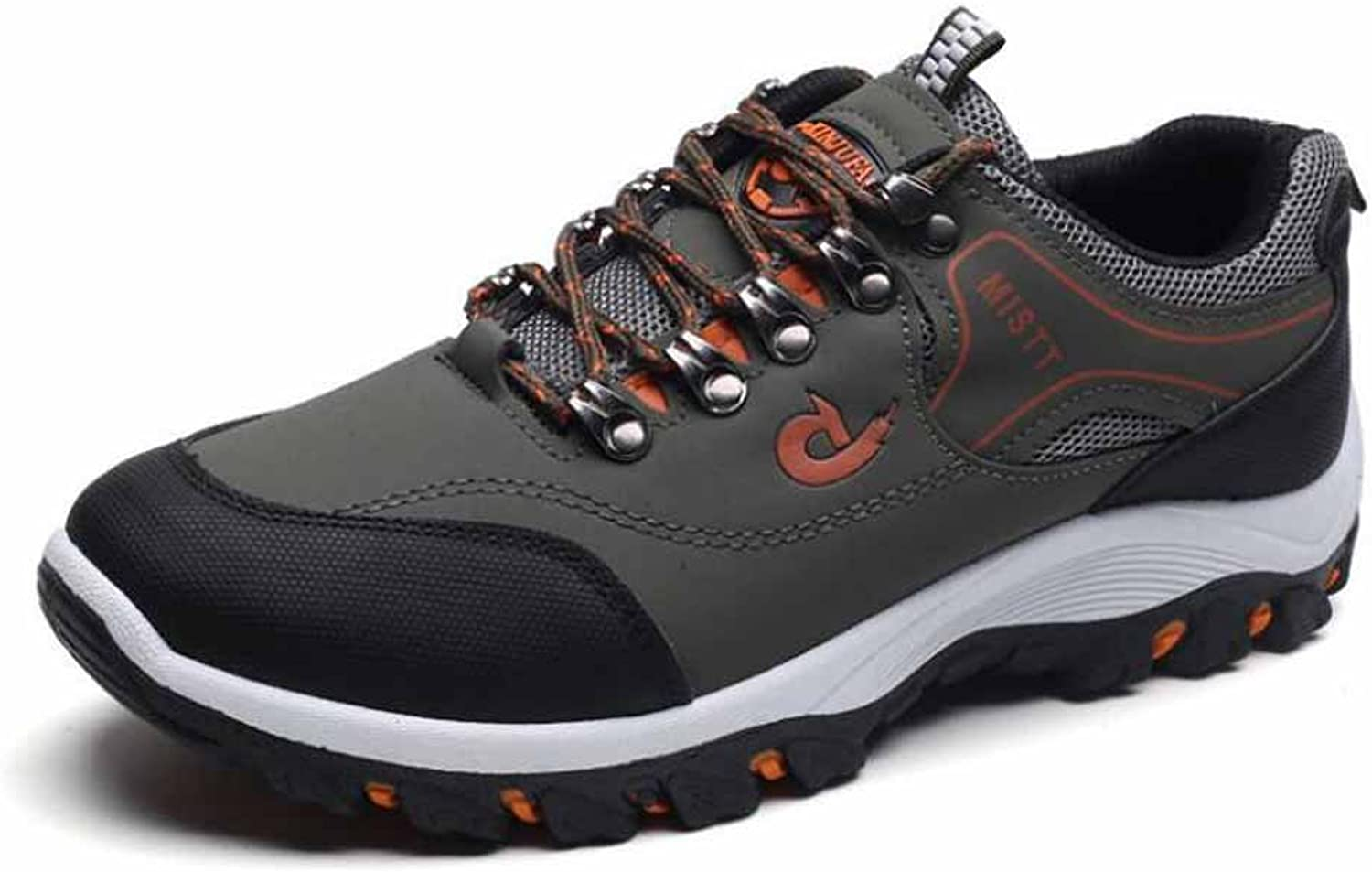 GLSHI Men Breathable Climbing shoes Autumn Winter New Sports shoes Waterproof Anti-skid Outdoor Casual shoes