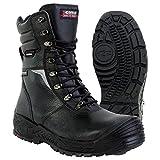 Cofra 13600–000.w44Bragi S3CI HRO SRC calzado de seguridad talla 44NEGRO