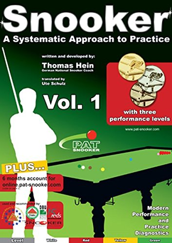 PAT-Snooker Vol. 1: A Systematic Approach to Practice (Snooker - A Systematic Approach to Practice)
