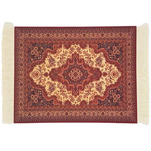 DESIGNMANUFAKTUR Teppich Mauspad Perser Mousepad orientalischer Teppich als Mousepad Mausunterlage - lustiges Büro Zubehör - Motiv 15