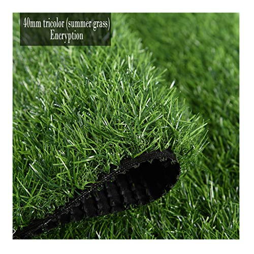 Artificial Grass Turf, Synthetic Grass Patch Mat Drainage Holes, Fake Turf for Indoor Outdoor Decor (Size : 2m0.5m)