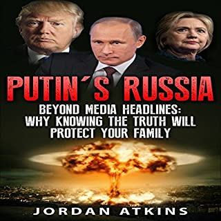 Putin's Russia audiobook cover art