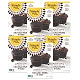 Simple Mills Almond Flour Mix, Chocolate Muffin & Cake, 10.4 Ounce (Pack of 6) (PACKAGING MAY VARY)