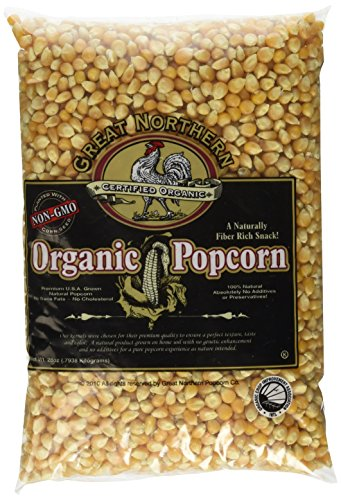 Great Northern Popcorn 4203 Organic Popcorn, 28 oz