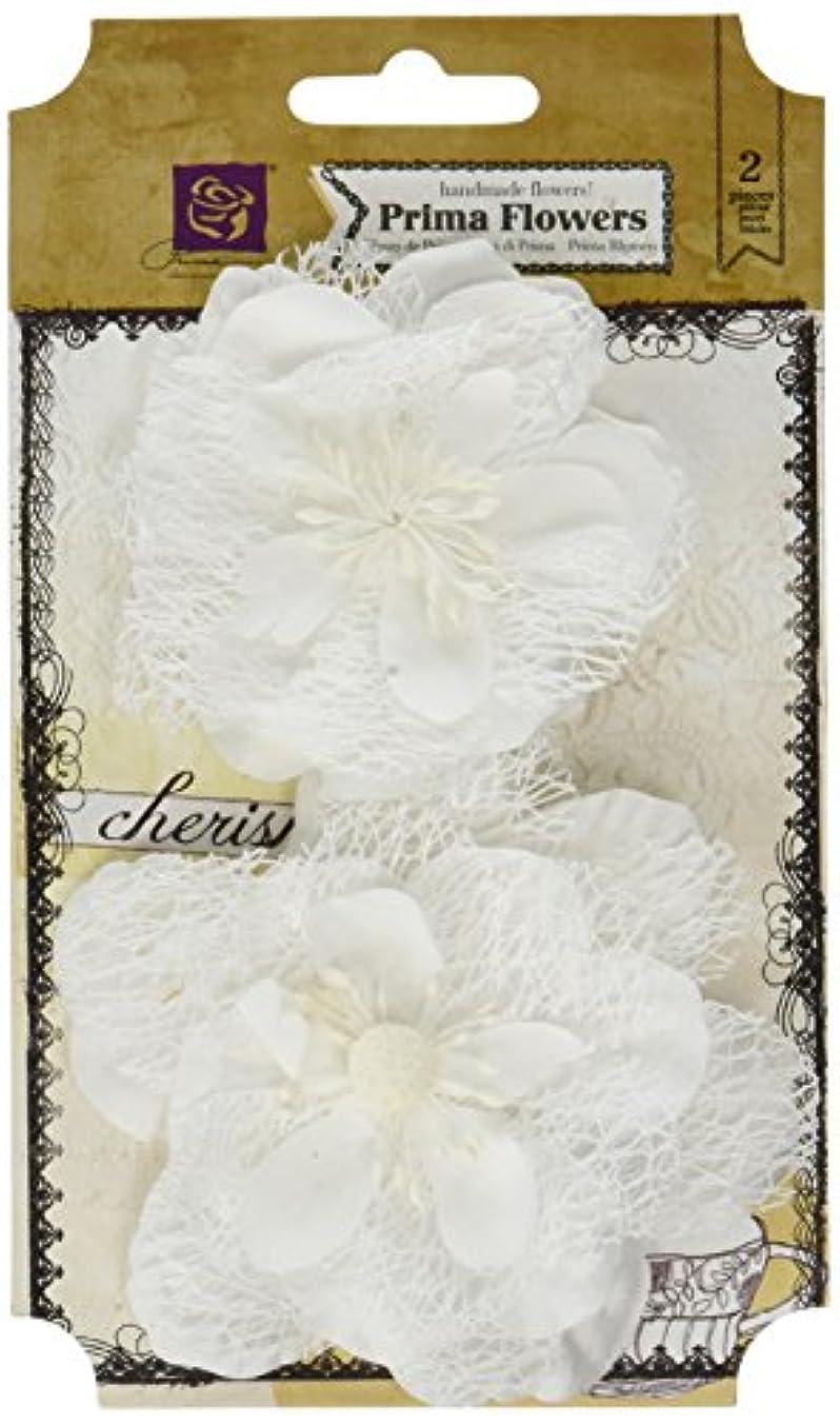 Prima Marketing 655350566555 Odette Scrapbooking Embellishments, White