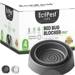 ✅ SLEEP EASY! 24/7 BEDBUG DETECTION AND PROTECTION — Easily monitor your problem 24/7 and rest easy knowing that your bed and furniture will remain bed bug free. Detect the presence of unwanted pests with the Bed Bug Blocker (Pro). ✅ EFFECTIVE, HEAVY...