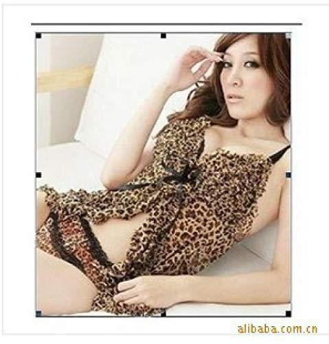 BAKND kostuums voor volwassenen BH-overhemden voor dames vrouwen sexy lingerie 2-delig doorschijnende Tanga -_ One Size