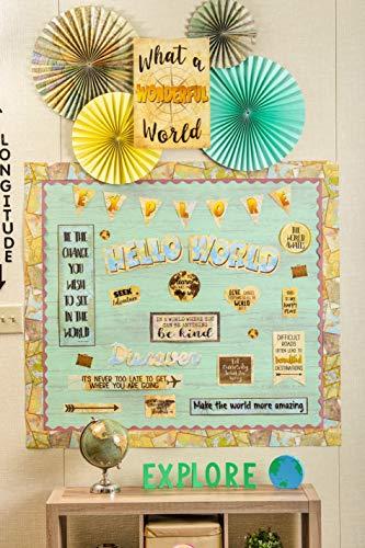 Teacher Created Resources Travel The Map Mini Bulletin Board TCR8624) Photo #2