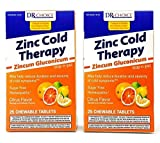 Zinc Lozenges Cold Therapy Homeopathic 50 CHEWABLE Sugar Free - Free Shipping