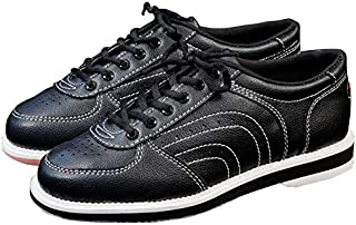 BEESCLOVER Bowling Products Professional Bowling Shoes Classic Men and Women Soft Leather Sneakers Super Comfortable Sports Shoes
