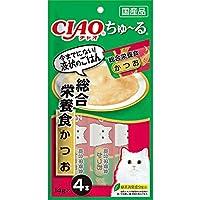 【セット販売】チャオ ちゅ~る 総合栄養食 かつお (14g×4本)×6コ[ちゅーる]
