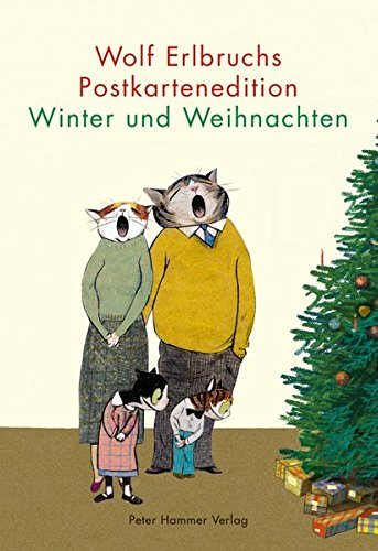 Wolf Erlbruchs Postkartenedition Winter und Weihnachten