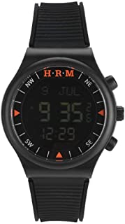 New Modern Sport Anti-Allergy Waterproof Azan Muslim Watch Worldwide Prayer Time Compass Alarm Black