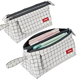 Pencil Case with Two Large Compartments Pocket Big Capacity...