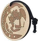 endlosschenken Lieblingsmensch Schlüsselanhänger aus Holz sehr Gute Qualität Partnergeschenk Herz Anhänger Geschenk vom ORIGINAL