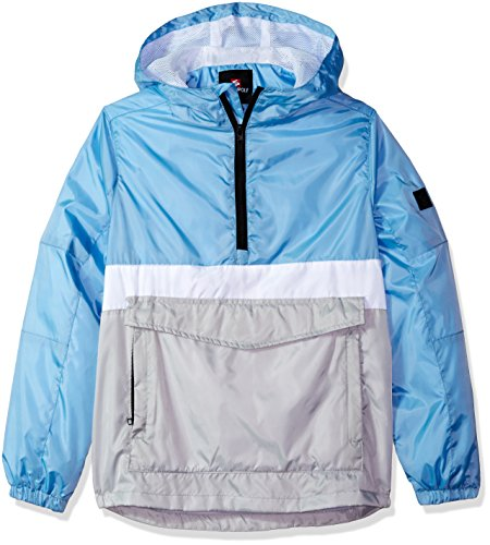 Southpole Young Men Big Boys' Windbreaker Jacket, Sky Blue(Packable), Small