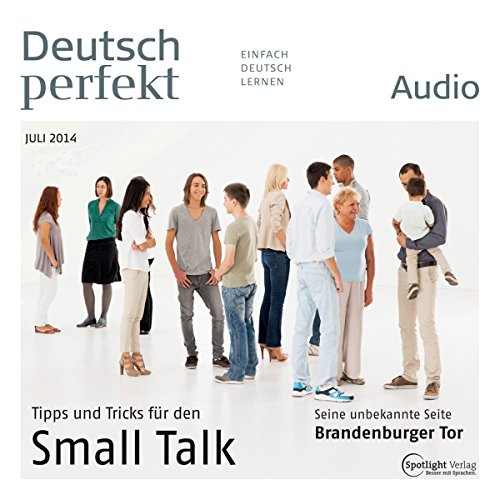 Deutsch perfekt Audio - Small Talk. 7/2014 cover art