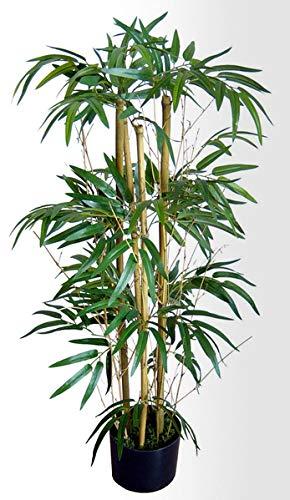 Seidenblumen Roß Twiggy-Bambus 90cm DA Kunstbaum Dekobaum Kunstbambus Dekobambus Kunstpflanzen künstlicher Bambus Baum Pflanze