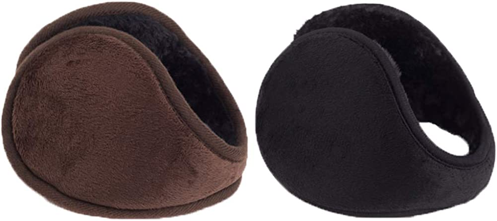 2 Pack Ear Warmers For Men Plush Winter Outlet ☆ Free Shipping Thick Outdo Women Brand new Unisex