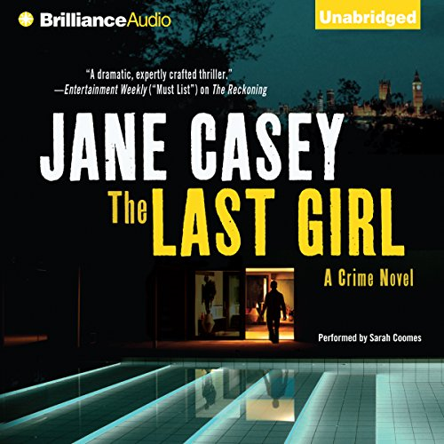 The Last Girl audiobook cover art