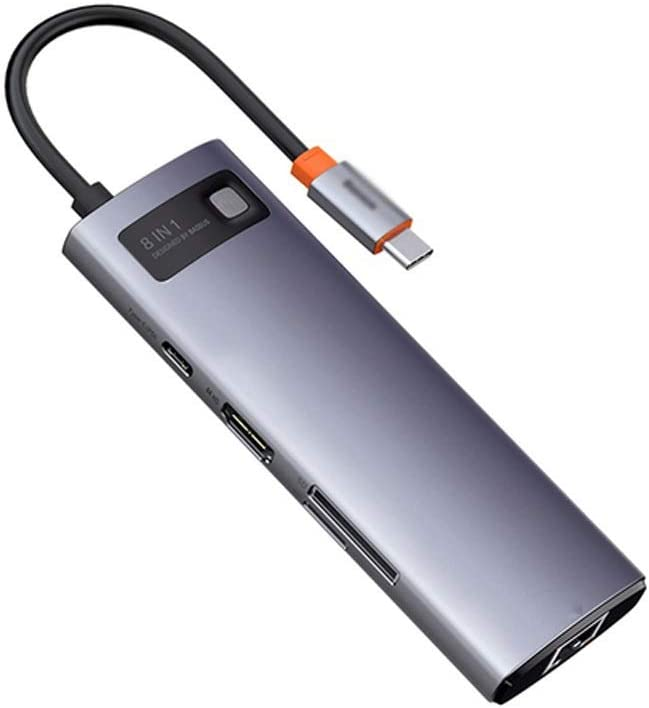 CHYSP 8 in 1 Type C Limited time Max 47% OFF sale HUB PD Charger USB SD Reader 100W