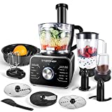 Robot culinaire Topchef 1100W Robot Multifonction(avec...